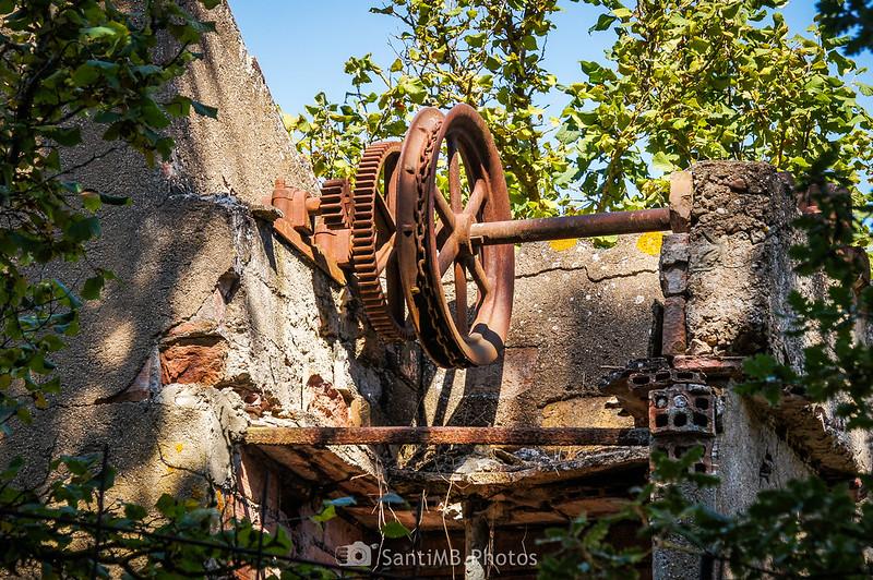 Posible pozo abandonado junto al Camí Vell de Montblanc