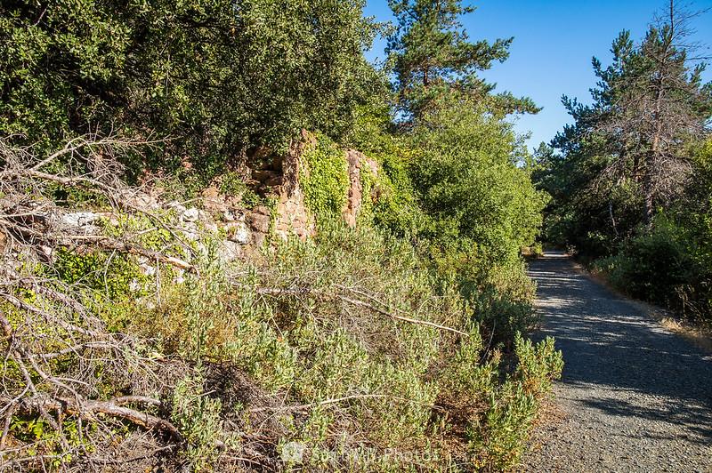 Ruinas del Mas del Teodoro en el Camí Natural Muntanyes de Prades