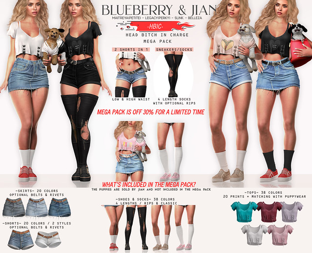 Blueberry & Jian HBIC Mega Pack
