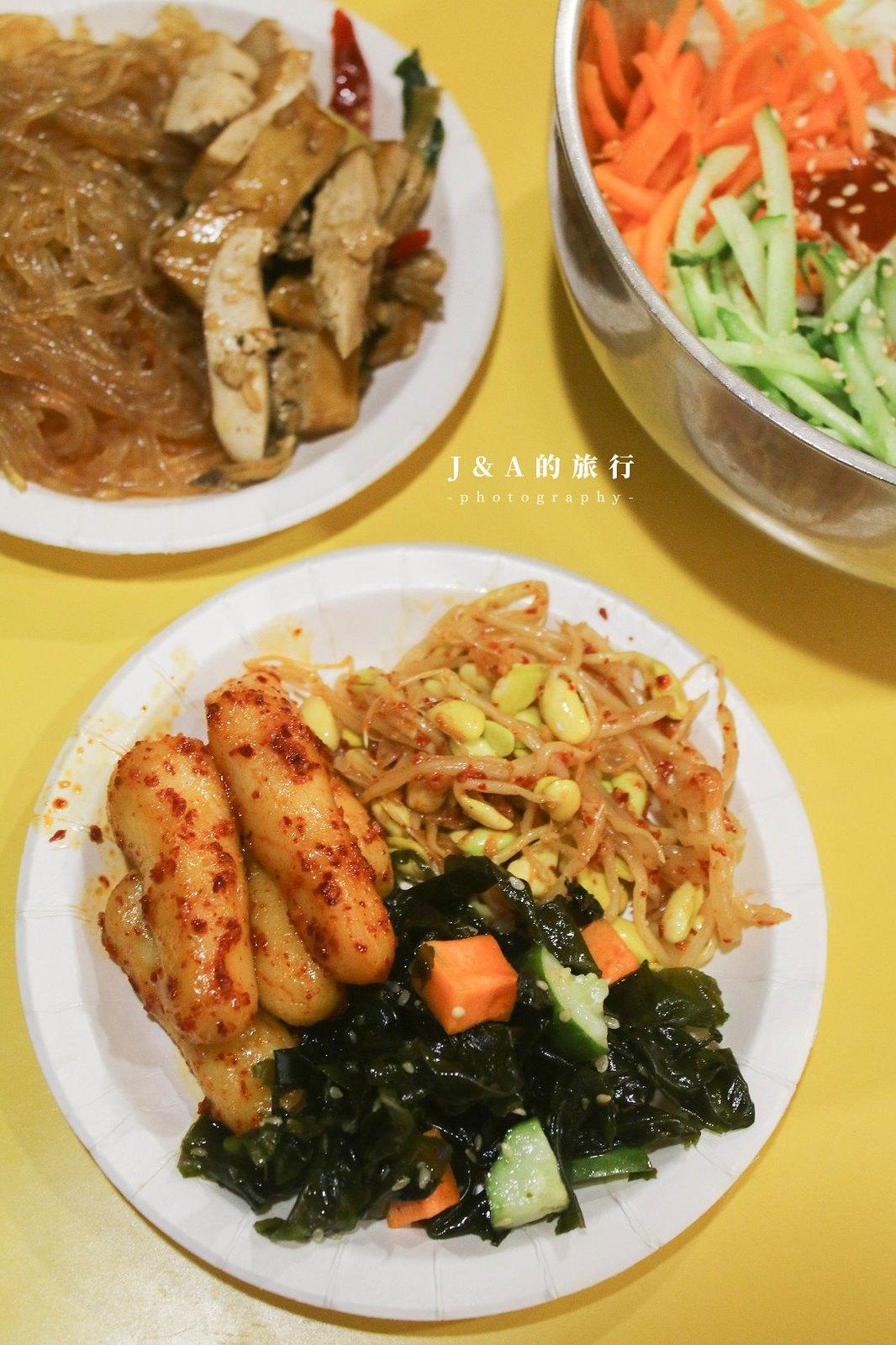 5種小菜、2種湯品吃到飽,平價韓式料理120元就吃得到!全羅道韓式拌飯 @J&A的旅行
