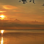 15. August 2020 - 6:12 - Sonnenaufgang am Bodensee / Sunup at Lake Constance