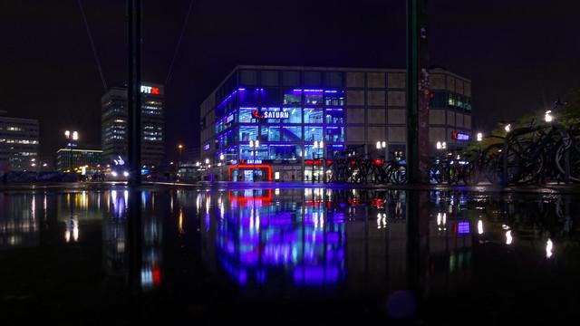 Berlin Alexanserplatz 2020-10-30 gegen 18:03:49 CET
