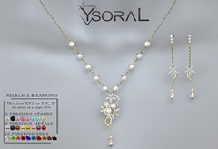 ~~ Ysoral ~~.:Luxe Set Necklace & Earrings Angele