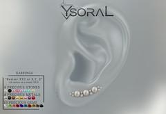 ~~ Ysoral ~~ .: n01 Luxe Earrings Eva :.
