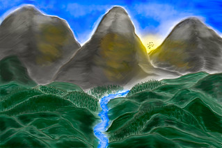 Silver mountain waters