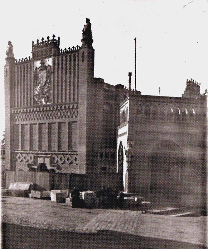 Escuela de Artes sobre 1898