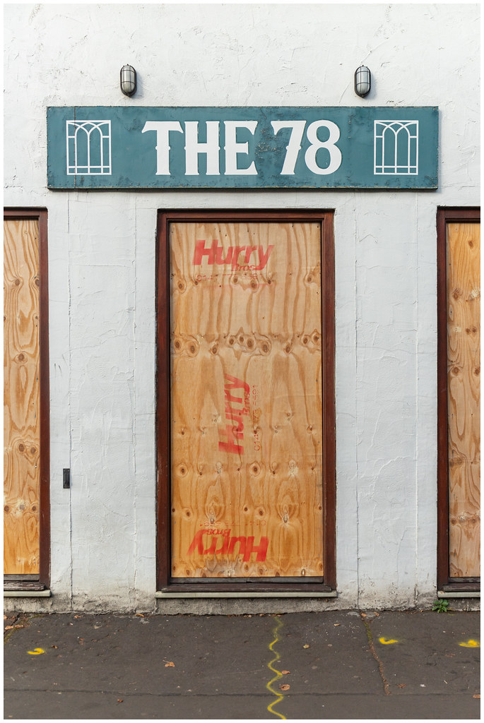 Boarded Up - The 78, Glasgow