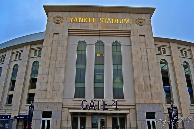 Yankee Stadium Gate 4 Concourse The Bronx New York City NY P00696 DSC_3285