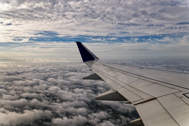 Flying Over and Under Clouds