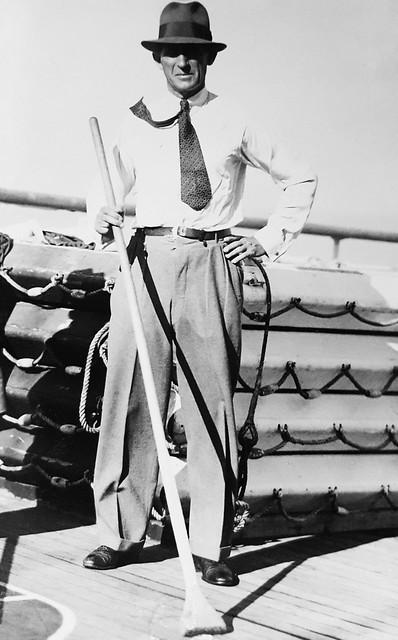 Philip Harding Klimanek - Entertainment aboard a ship crossing the Atlantic Ocean, 1935