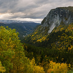 5. Oktoober 2020 - 17:49 - Beautiful autumn colors in the mountains in southern Norway.