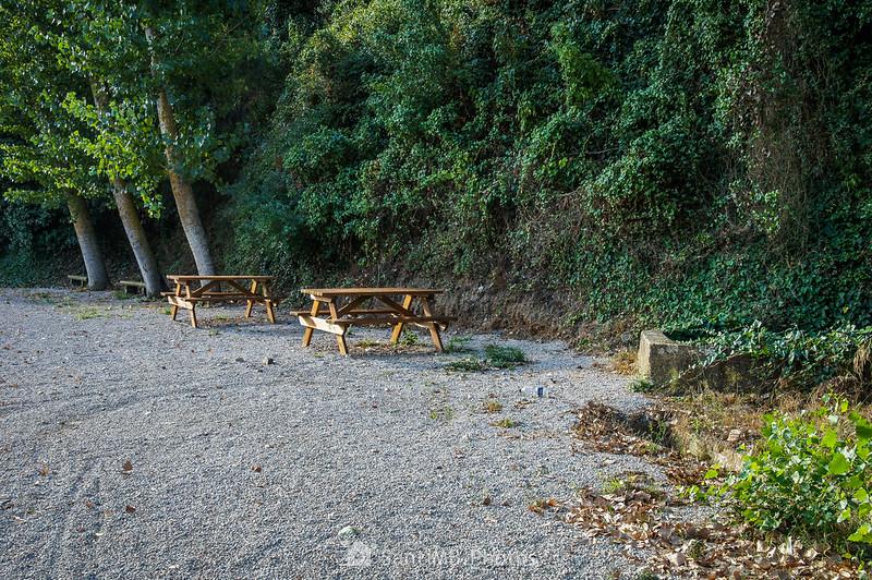 Área de descanso de la Font dels Gossos