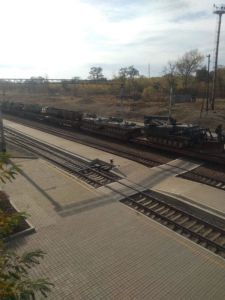 Autre photo du convoi ferroviaire