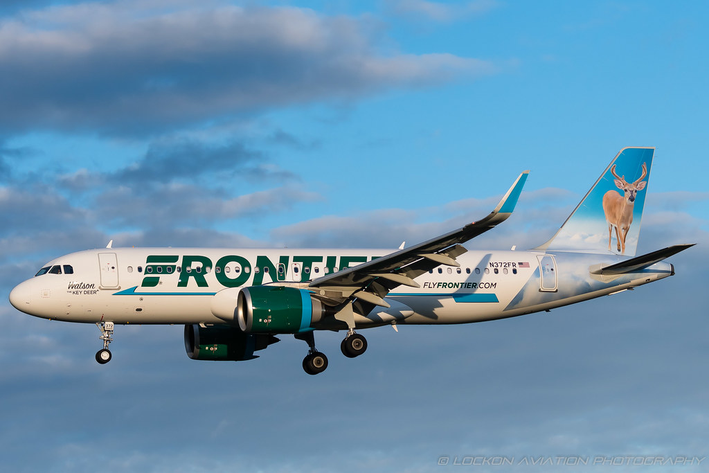 30-Oct-2020 BWI N372FR A320-251N (cn 10119)   / Frontier Airlines