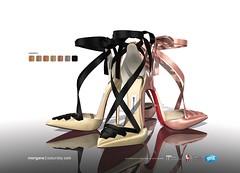 Morgane Ribbon Sandals