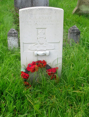 Great War Grave, Chester, Overleigh Cemetery