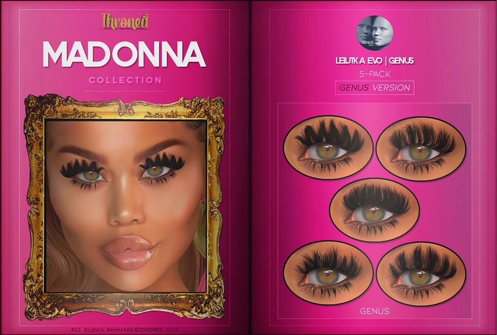 Madonna Collection for GENUS