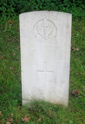 Chester, Overleigh Cemetery, Great War Grave