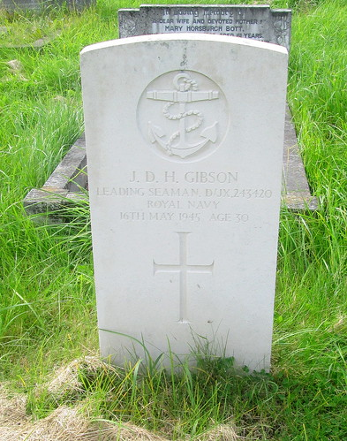 World War 2 Grave, Overleign Cemetery, Chester