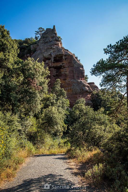 La Roca dels Corbs en Prades