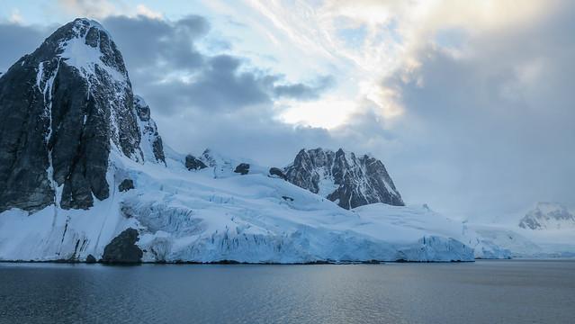 Icy shores: Antarctic Peninsula