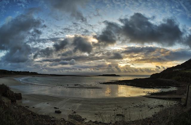 Longis Bay, Alderney... Fisheye