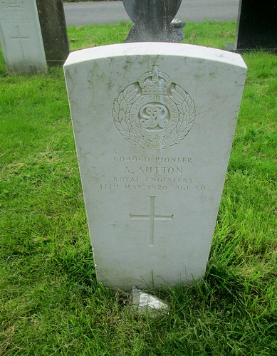 Chester, Great War Grave, Overleigh Cemetery