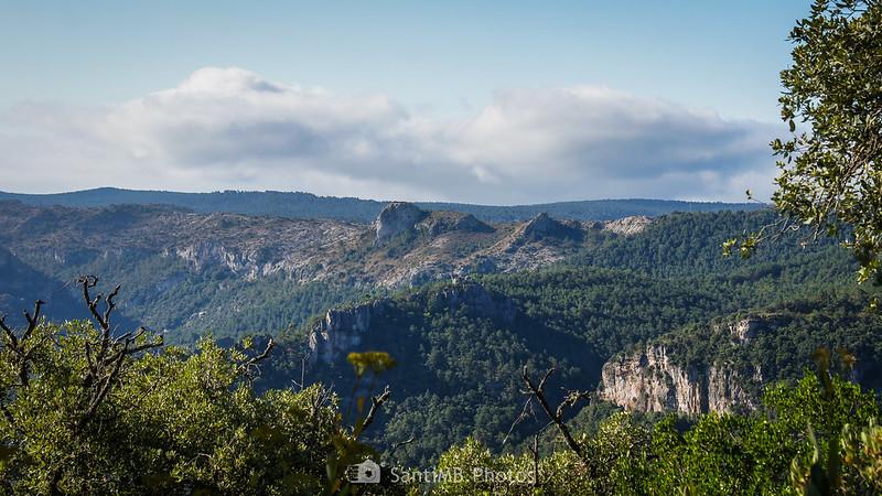El Picorandan desde la Roca dels Corbs