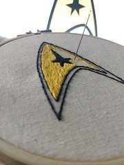 Star Trek embroidery