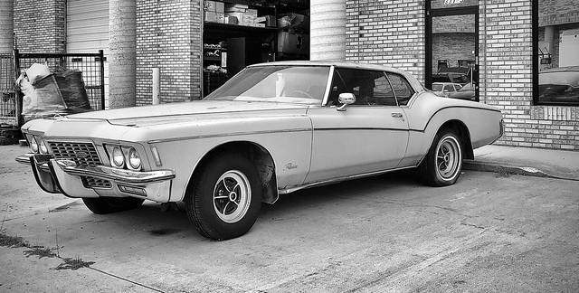 1970s Buick Riviera (Mono Shot)