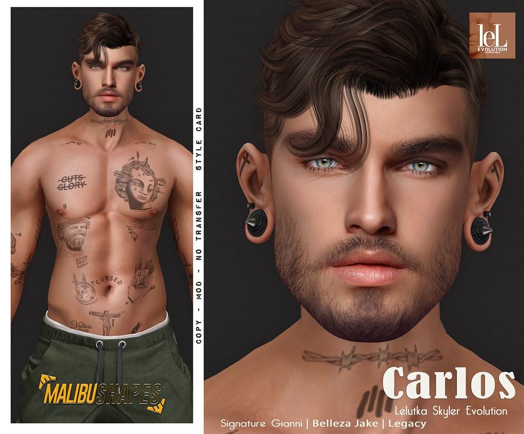 Carlos Lelutka Skyler Evolution