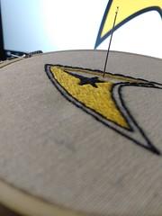 Star Trek insignia patch