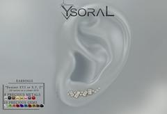 ~~ Ysoral ~~ .: n02 Luxe Earrings Eva :.