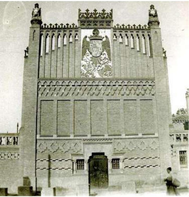 Escuela de Artes en 1902, foto Rodríguez.