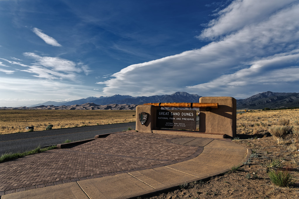 There Are National Park Entrances and Then There Are National Park Entrances! (Great Sand Dunes National Park & Preserve)