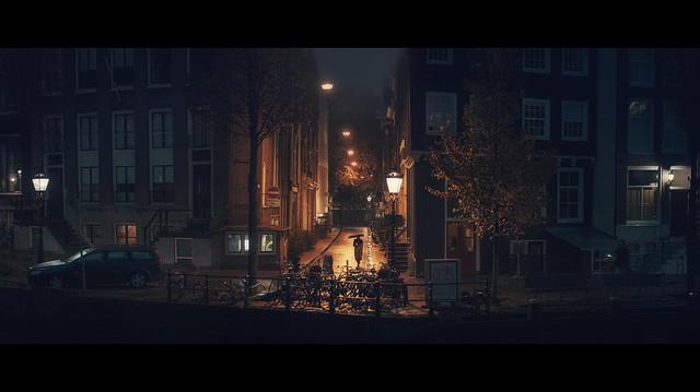 an October night