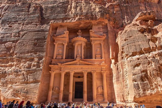 Armchair Traveling - The Treasury, Petra, Jordan