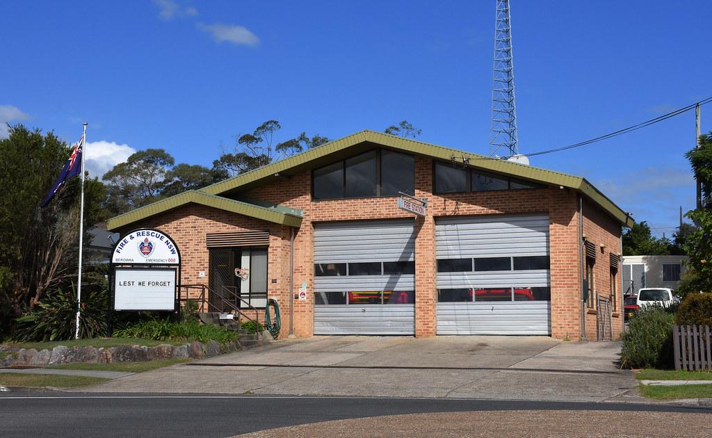 Fire Station, Berowra, Sydney, NSW.