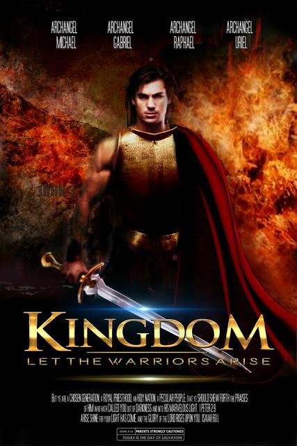 Kingdom Poster with angel warrior