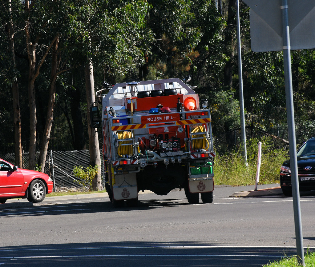 Fire Engine, Kellyville, Sydney, NSW.