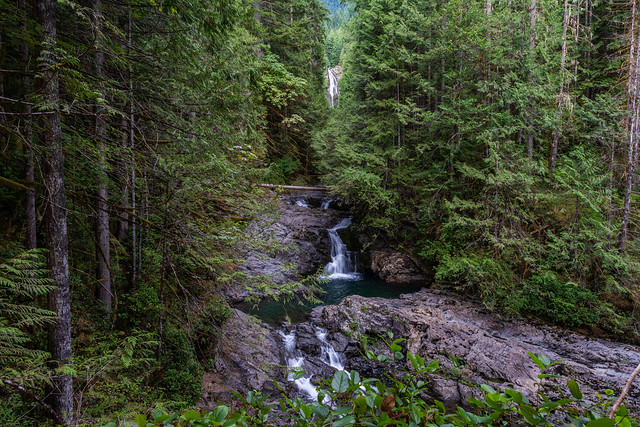 Lower Falls - Wallace Falls State Park