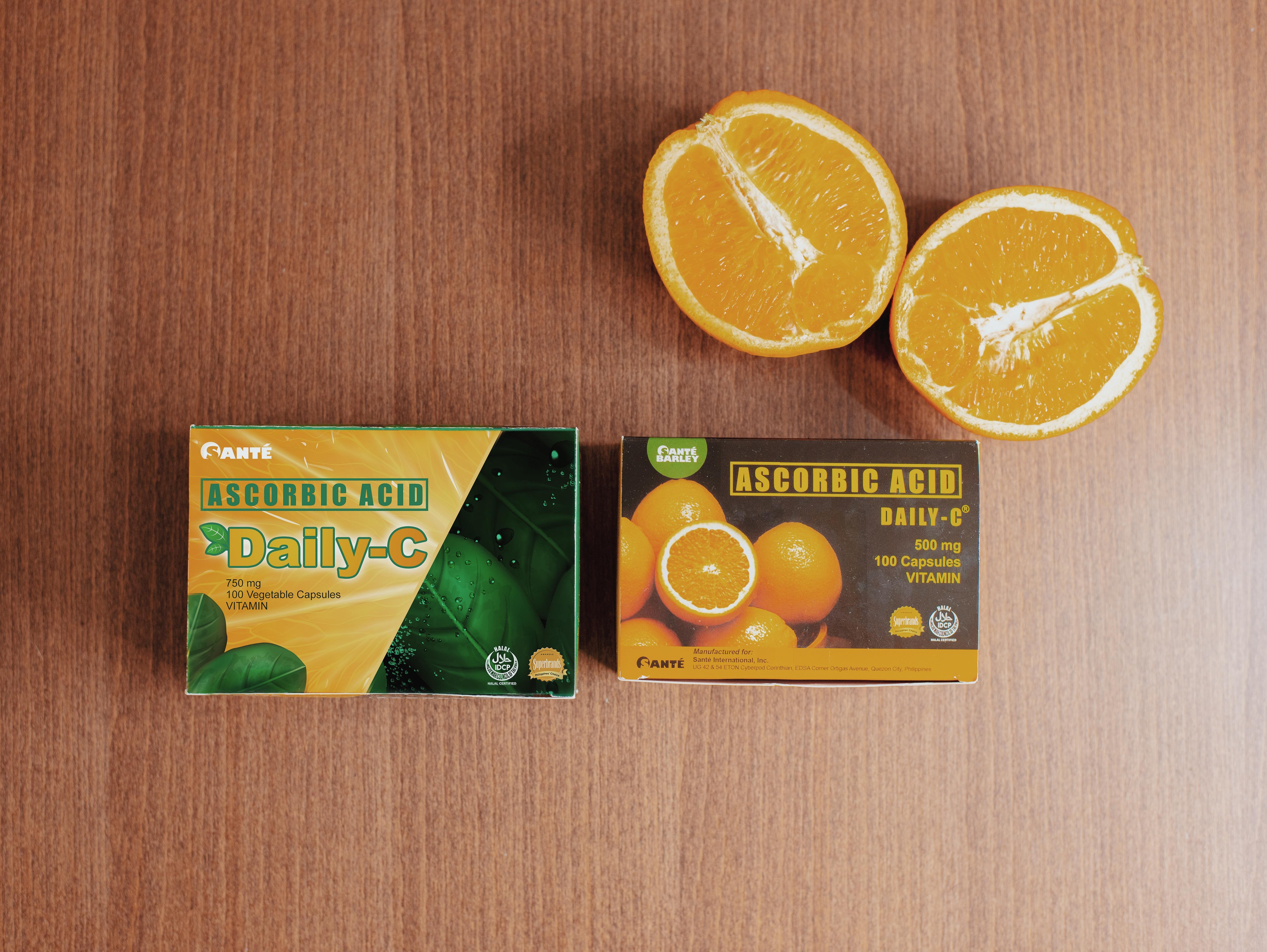 Catriona Gray for Sante's Daily C: Vitamin C in Vegetable Capsule