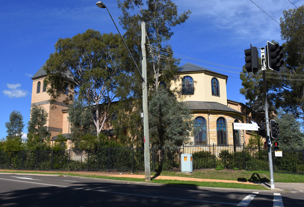 Our Lady of the Angels Catholic Church, Kellyville, Sydney, NSW.
