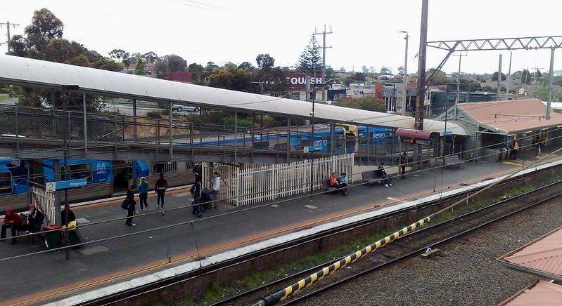Ringwood station before redevelopment, October 2010
