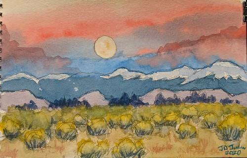 Valley Moonrise