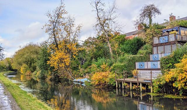 Canal gardens at Preston