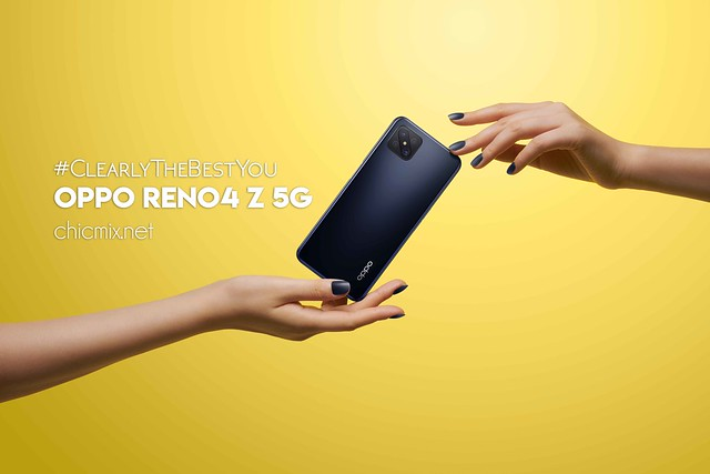 Reno4 Z 5G in Ink Black