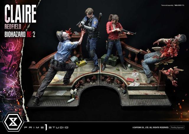 逃出生天龍鳳組!Prime 1 Studio《惡靈古堡2重製版》里昂 克蕾兒 立體人形雕像