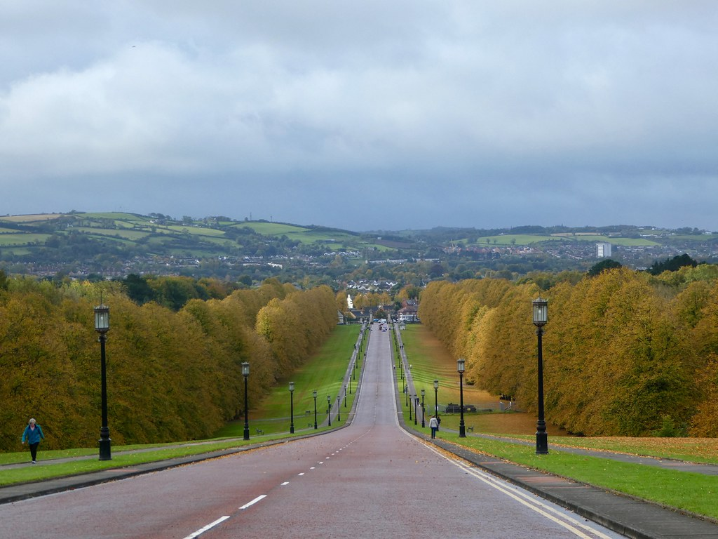 View down the driveway from Stormont