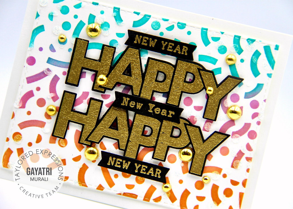 New Year card #2 closeup1
